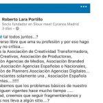 Roberto Lara llama a la unión de las agencias frente a fragmentación actual.