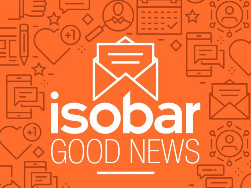 ISOBAR, LANZA, GOOD NEWS,, programapublicidad