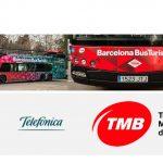 Mediapro, Telefónica y TMB desarrollan realidad aumentada 5G en autobús turístico .