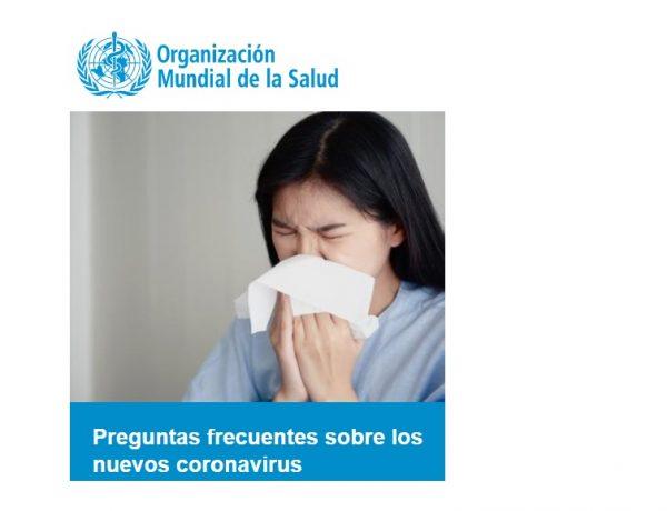 OMS , coronavirus, programapublicidad
