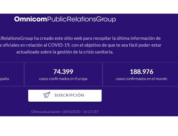 OmnicomPublicRelationsGroup , COVID-19, programapublicidad