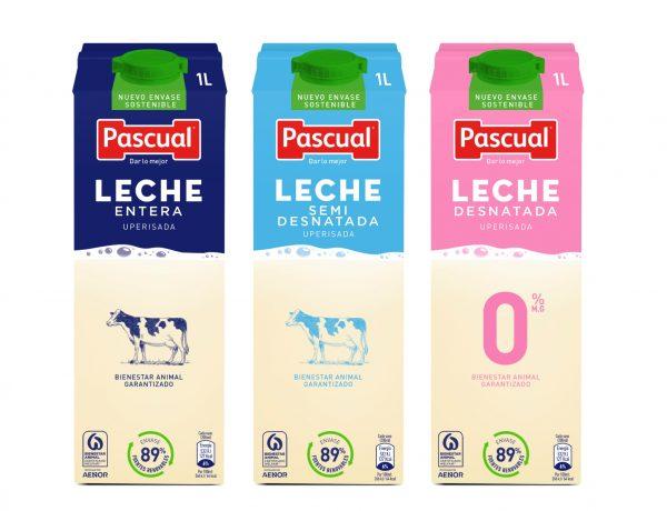 Pascual , lanza , Tetra Brik , leche UHT, programapublicidad