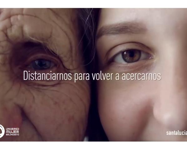 Santalucía lanza campaña de apoyo ante el COVD-19. distanciarnos, acercarnos, programapublicidad