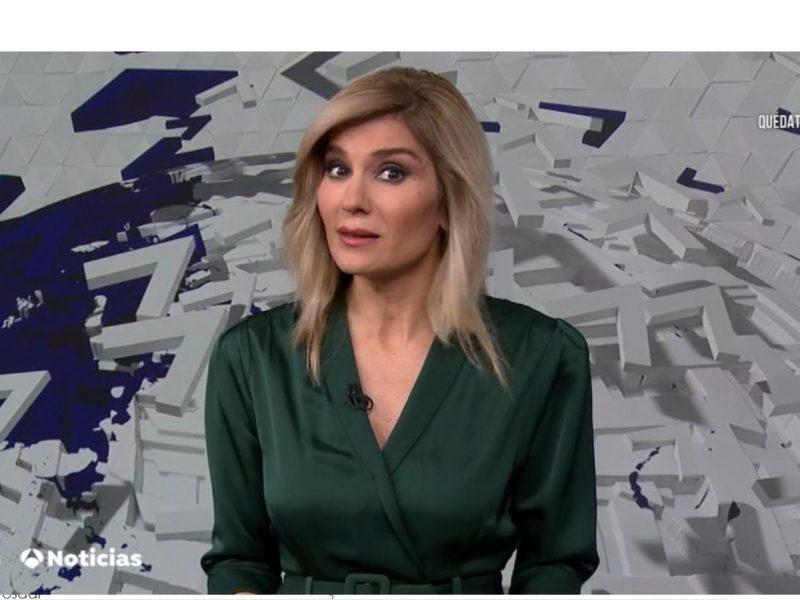 antena 3 NOticias1, Sandra Palo, 30, marzo, 2020, programapublicidad