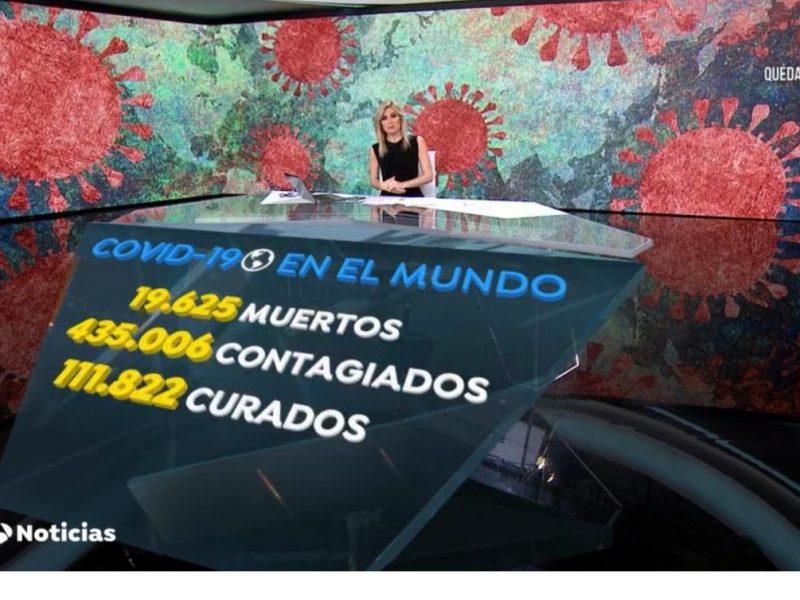 A3 Noticias , antena3 noticias 1, sandra, 25 marzo, 2020, programapublicidad