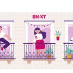 """Bnextlanza """"La Casa por la Ventana"""" para amenizar la cuarentena."""