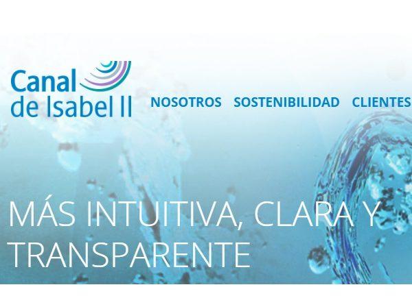 canal Isabel II, programapublicidad