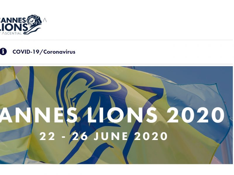 cannes lions 2020, , covid-19, coronavirus, programapublicidad