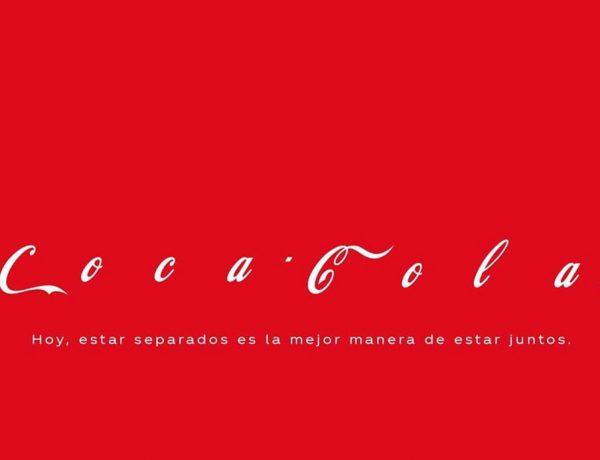 coca-cola, separados, coronavirus, programapublicidad