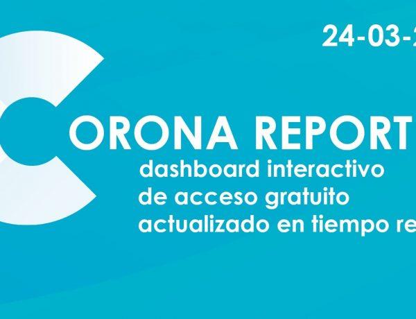 corona report, carat, logo, programapublicidad