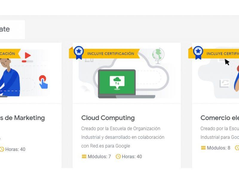 google, activate, formarse , cursos, online, programapublicidad