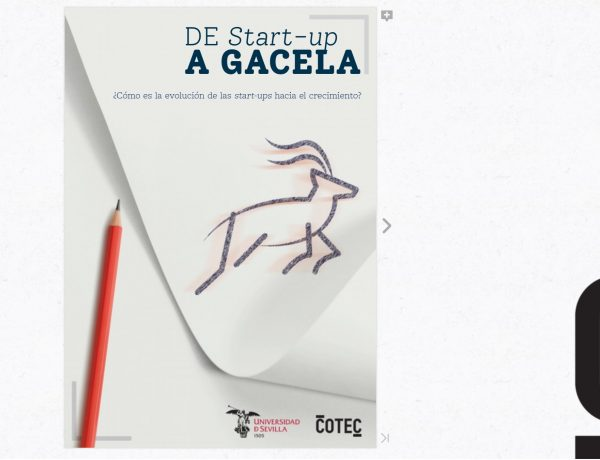 informe ,start-up a gacela, Cotec, programapublicidad