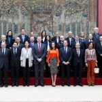 Los Reyes entregaron acreditaciones a Embajadores Honorarios de Marca España