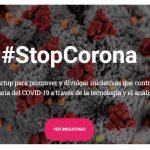 Nace #StopCorona,plataforma de startups y empresas de datos contra el Covid-19