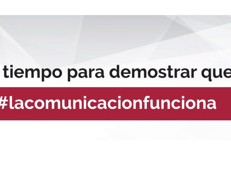 tiempo, demostrar, #lacomunicacionfunciona , am, agencias medios, programapublicidad