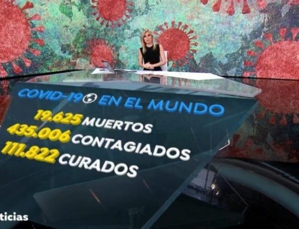 viernes 27 de marzo de 2020, antena 3 noticias 1, viernes , programapublicidad