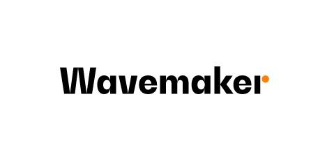 wavemaker, nuevo, logo, pequeño, programapublicidad