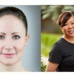Kate Stevens CEO de Axicom en Europa, Katie Huang Shin, CEO EEUU.
