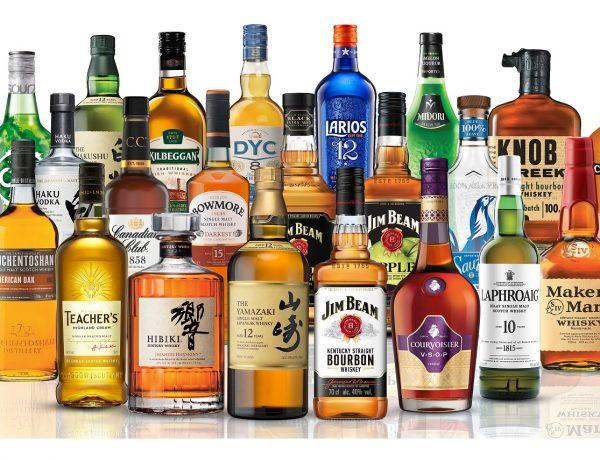 Beam Suntory, botellas, bodegon, programapublicidad
