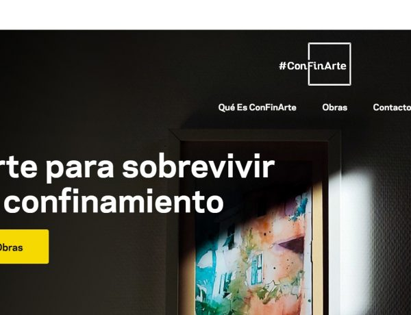#ConFinArte, arte para sobrevivir, obras, arte, artistas, programapublicidad