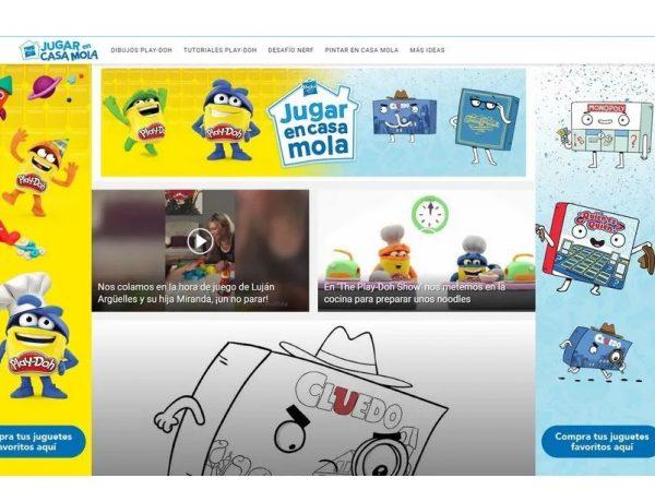 Hasbro , Mediaset España , lanzan , iniciativa , Jugar En Casa Mola , programapublicidad