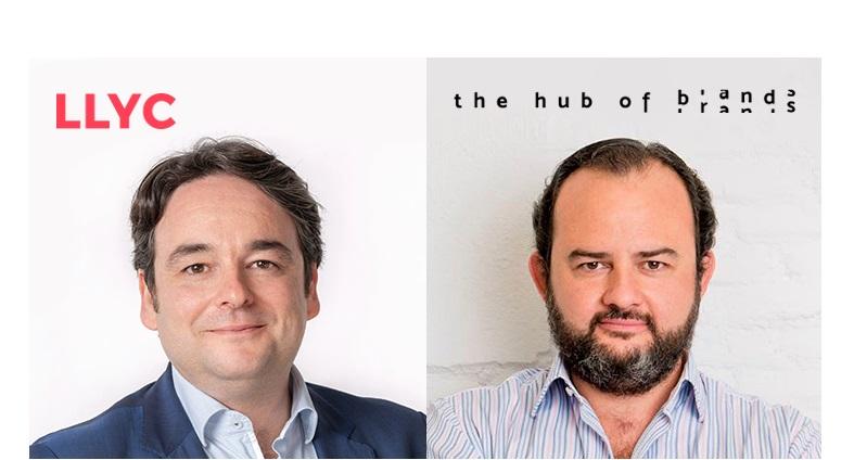 Iván Pino, socio y director senior , Área Digital ,LLYC, , Gorka Rodríguez, CEO , The Hub of Brands, programapublicidad
