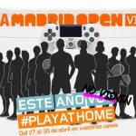 Mutua Madrid Open se jugará  desde casa, #playathome.