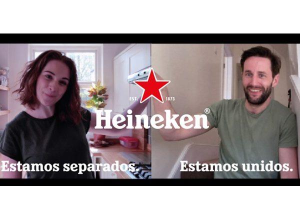 Ode to Close, Heineken, separados, unidos, covid-19, programapublicidad