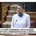 Atresmedia rechaza las acusaciones a periodistas de LaSexta de Macarena Olona en Congreso