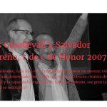 Fallece Salvador Pedreño. Homenaje a uno de los más grandes.