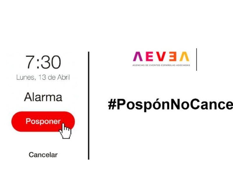 #PospónNoCanceles, aevea, programapublicidad