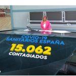 A3 Noticias 1 lideró el miércoles con 3 millones de espectadores y 17,6%.