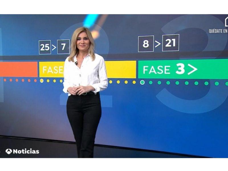 antena3 noticias 1, sandra palo, atresmedia, programapublicidad