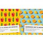 Campaña Bankia para agricultores «Queremos ser tu media naranja»
