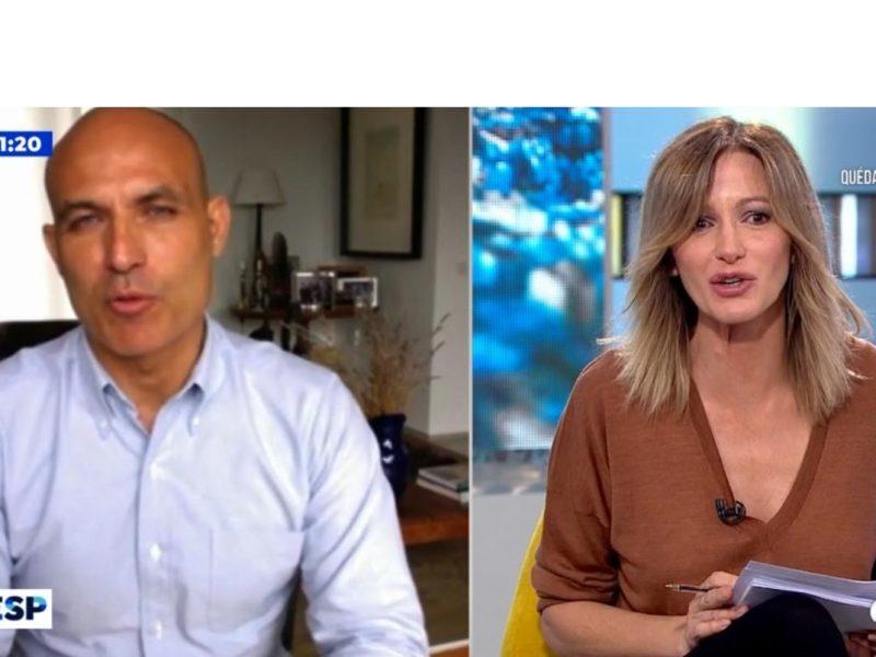 bernardo hernández, bonos, verse, entrevista, espejo público, a3, Susanna Griso , programapublicidad