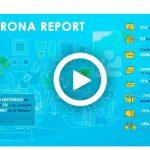 Corona Report, de Carat:  Cae -68% visitas al metro, -95% a las empresas y -70% a supermercados .