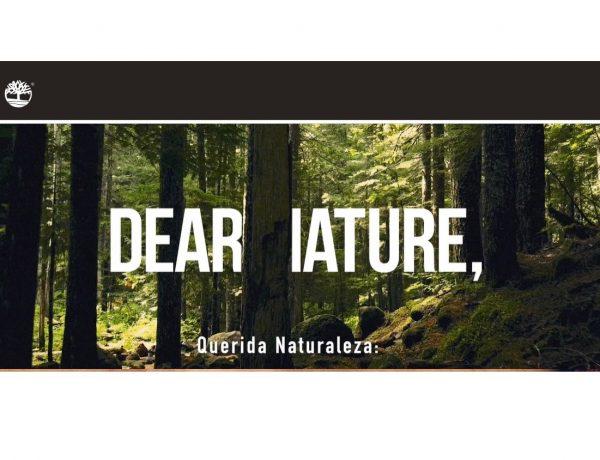dear Nature, Timberland, nature needs, heroes, programapublicidad