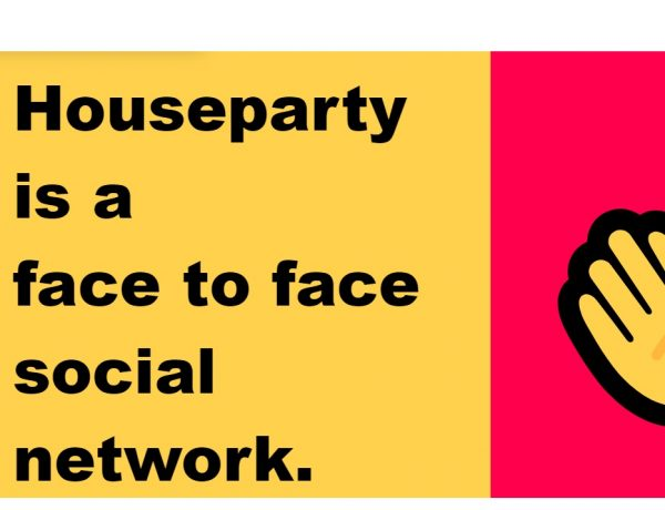 houseparty, social network, programapublicidad
