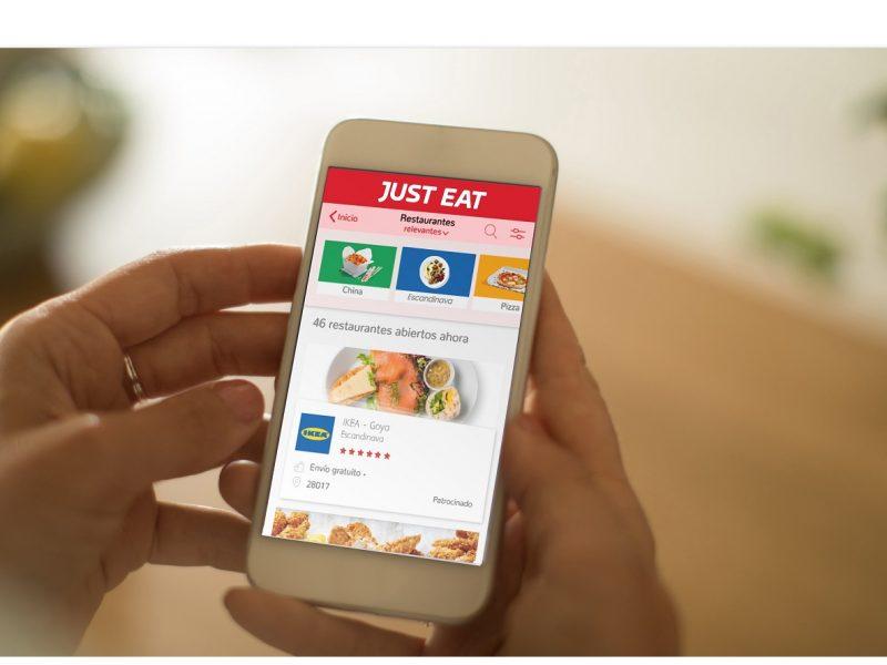 just eat, ikea, movil, app, programapublicidad