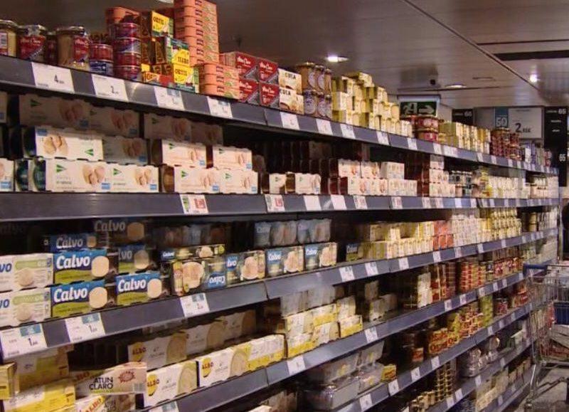 lineal, supermercado, grande