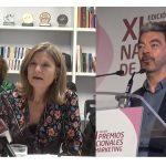 Rosa Menendez, Vpta de la AEA, y Jose Luis Arbeo dejan BBVA
