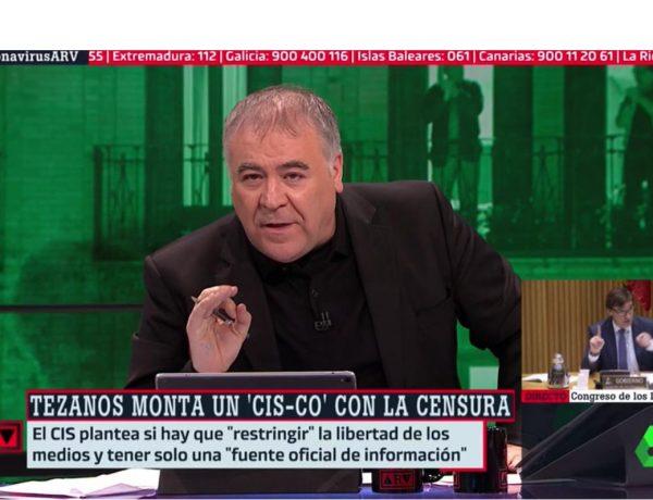 tezanos, ferreras #coronavirusARV, lasexta, programapublicidad