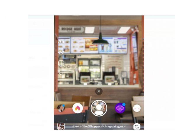 Filter of the Whopper, burger king, instagram, david madrid, cassis, programapublicidad