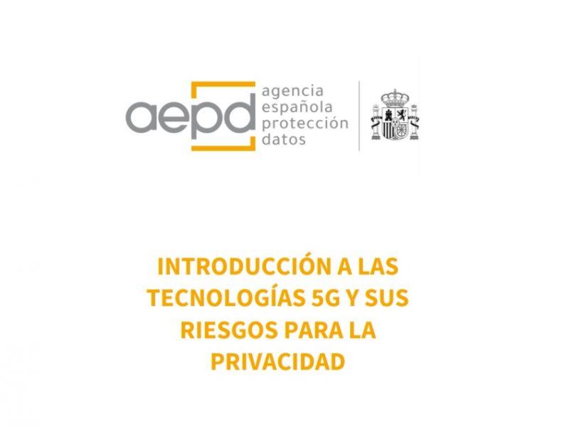 aepd, 5G, privacidad, programapublicidad