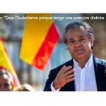 """Marcos de Quinto:""""Dejo Ciudadanos, porque tengo una posición distinta…""""."""