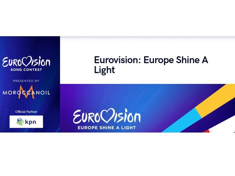eurovision, europe shine, a light, programapublicidad