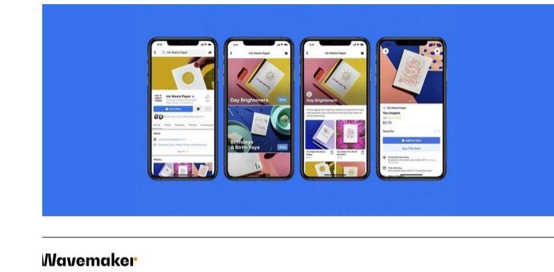 facebook, shops, wavemaker, apps, movil, programapublicidad