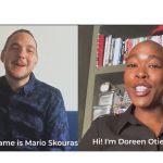 MARCO ficha a Mario Skouras y Doreen Otieno-Finger.