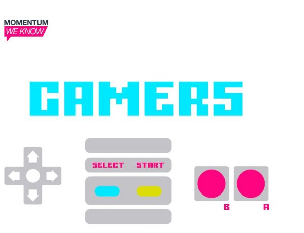 momentum, we know, gamers, programapublicidad