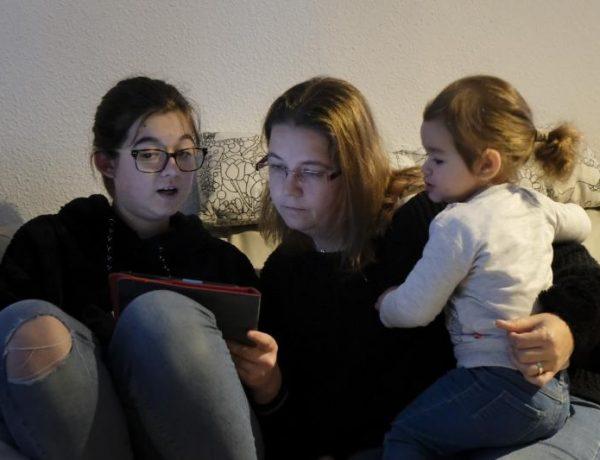 niños, pantalla, dispositivo, danone, programapublicidad